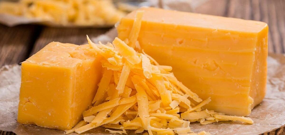 ชีสมีกี่ประเภท เชดด้าชีส Cheddar cheese